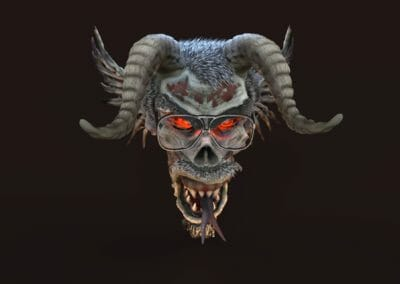 Undead demon avatar