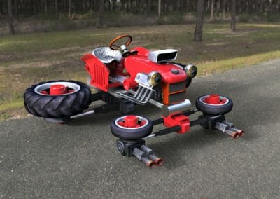 Tractor Drone